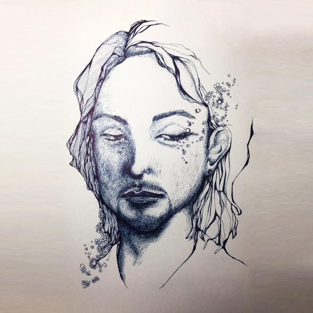 UNLIMITS/BASS 石島直和様の似顔絵イラスト