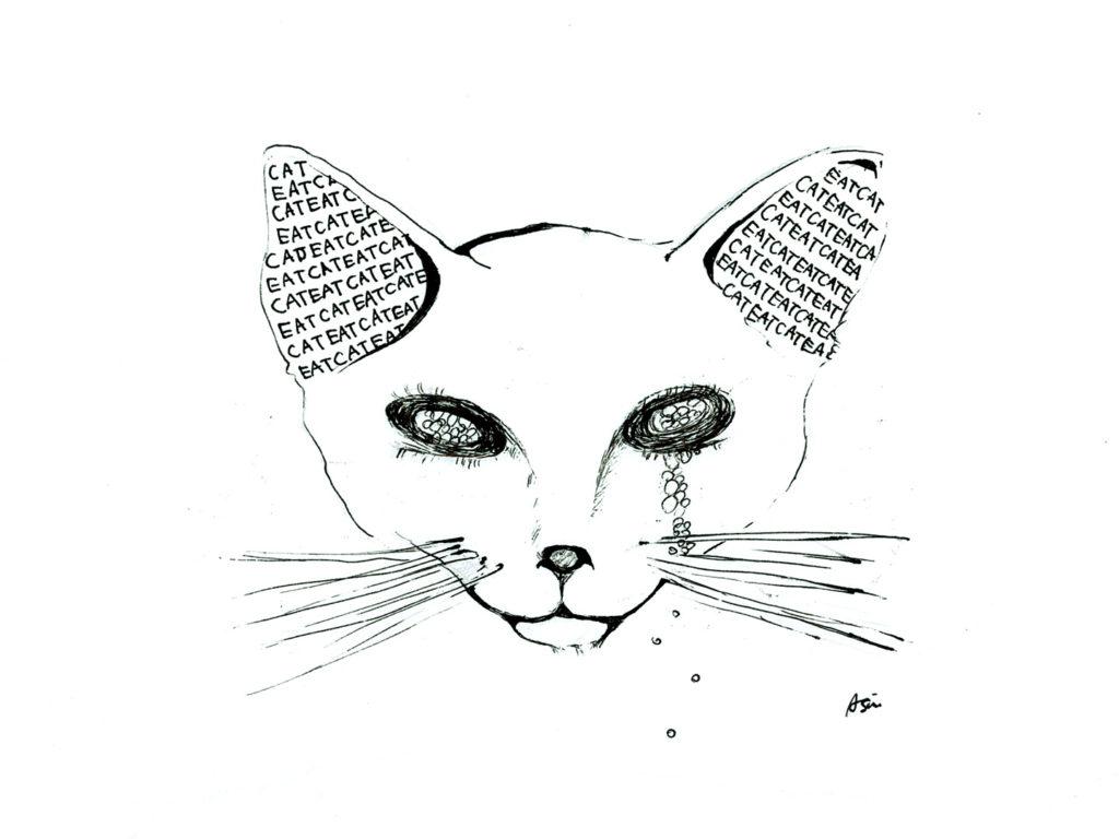 EAT CAT イラストレーター atsumi