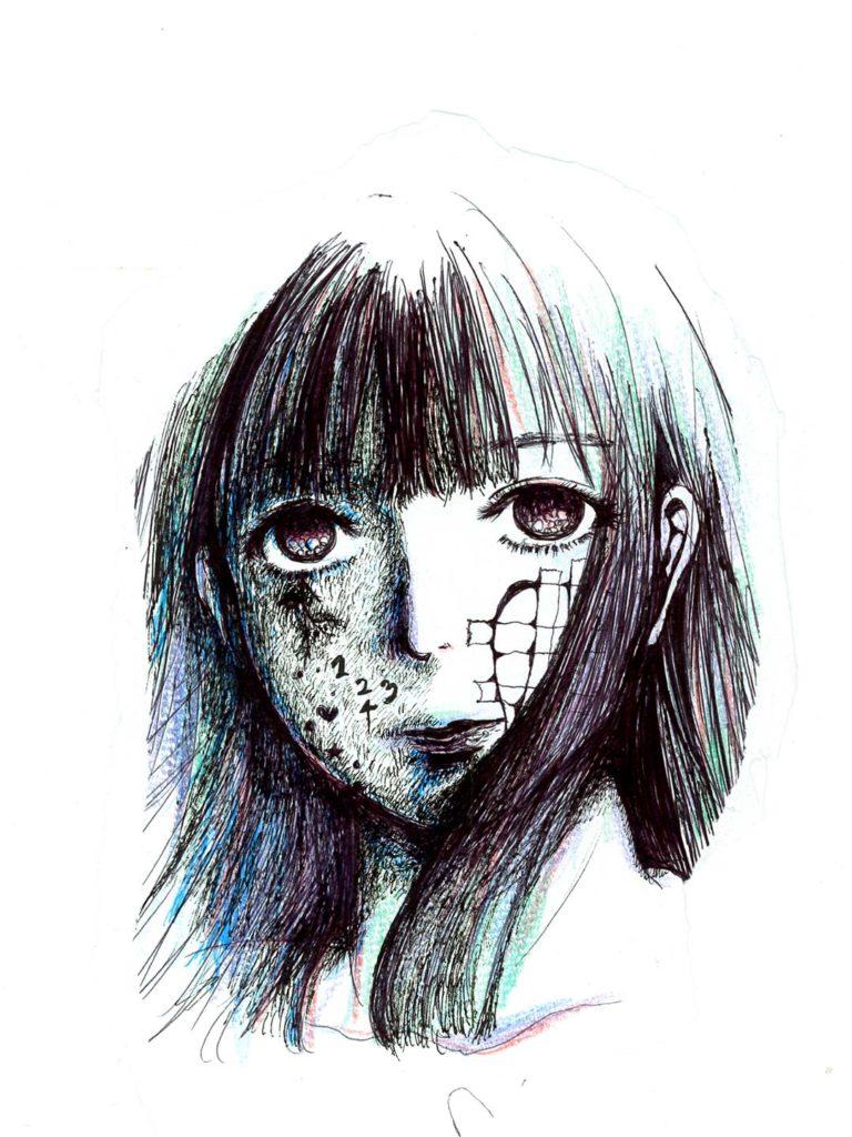 GIRL 1234 イラストレーター atsumi