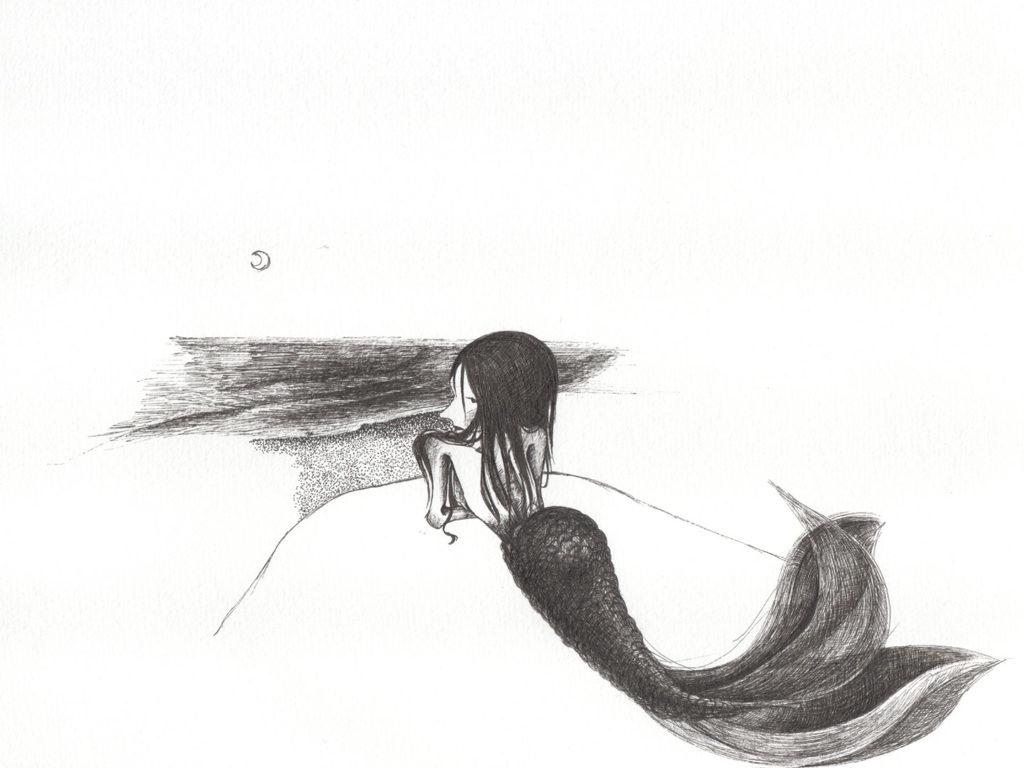 人魚 2 イラストレーター atsumi